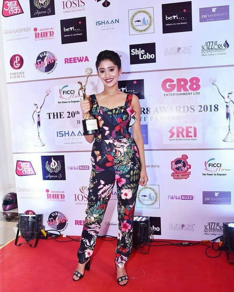 Check out Shivangi Joshi's red carpet evolution 3