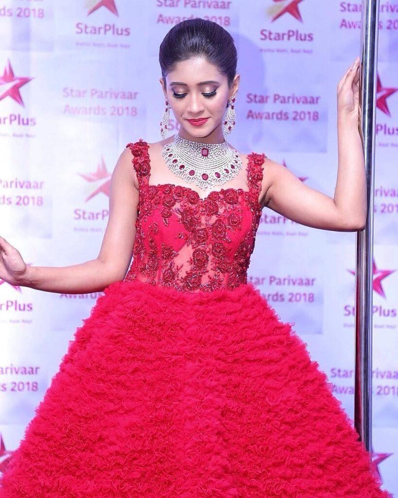 Check out Shivangi Joshi's red carpet evolution