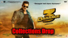 Dabangg3 Collections drop drastically on Monday