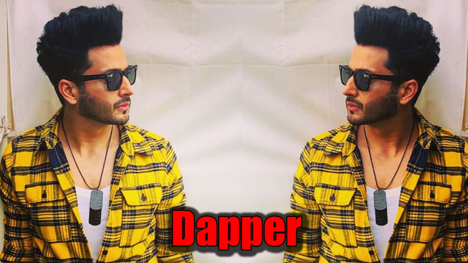 Dheeraj Dhoopar strikes a cool style statement with his sun glares