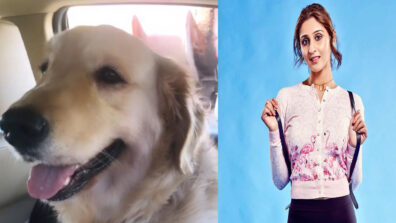 Dhvani Bhanushali has a day out with her dog 2