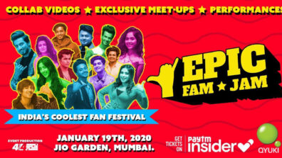 EPIC FAM JAM: India's Biggest Fan Festival For TikTok Stars and Instagram Icons is here