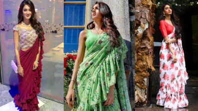 Erica Fernandes looks gorgeous in her saree look