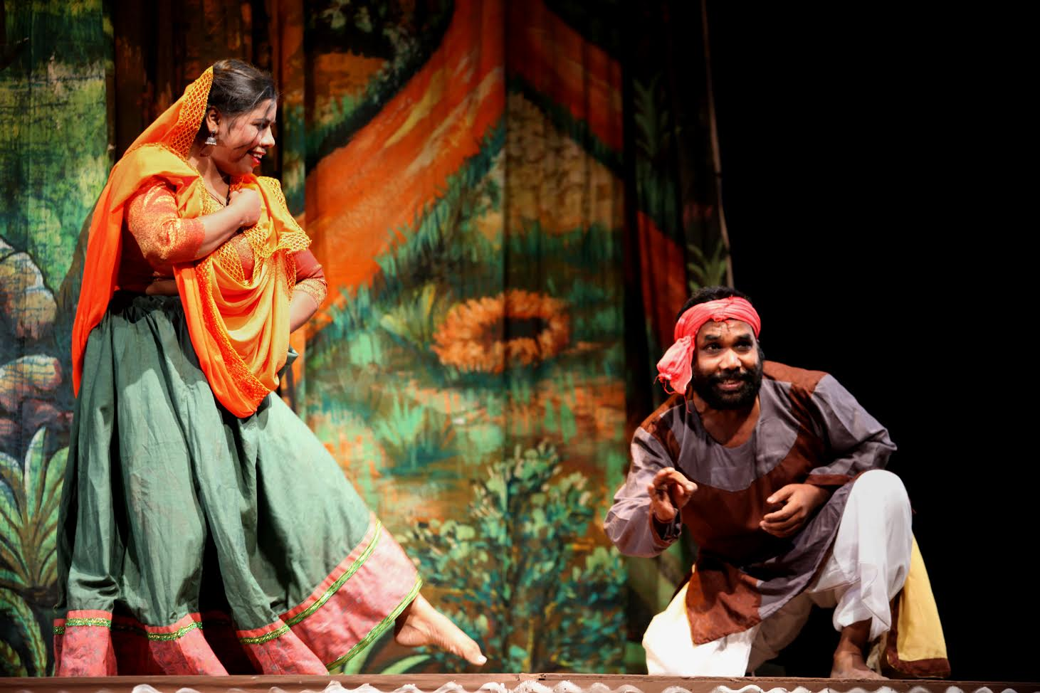 Forms of Traditional Indian Theatre 1