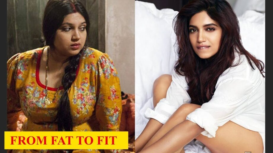 From Fat to Fit - Check Out Bhumi Pednekar's Transformation
