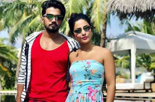 Hina Khan-Rocky Jaiswal and their travel diaries 1