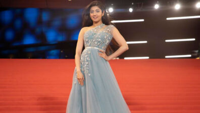 I am honored to share the platform with Bhumi Pednekar and Karan Johar at IFFAM: Pranitha Subhash