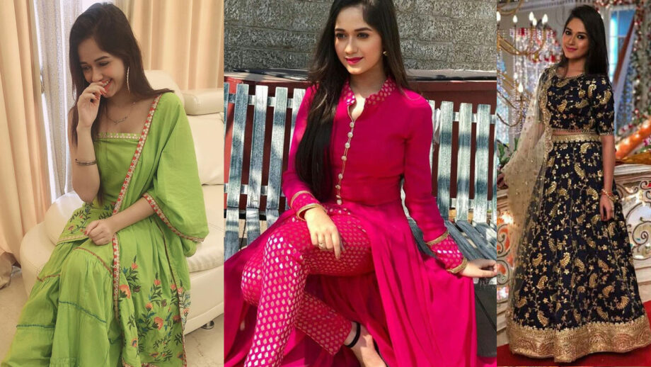 Jannat Zubair looks stunningly beautiful in traditional outfits
