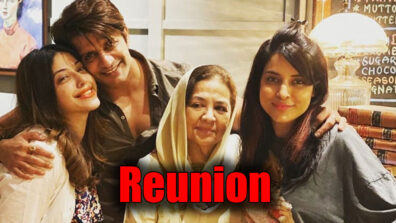 Karanvir Bohra, Farida Jalal and team Shararat's reunion