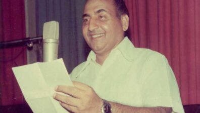 Times when Mohammed Rafi Sahab was singing for Street Vendors