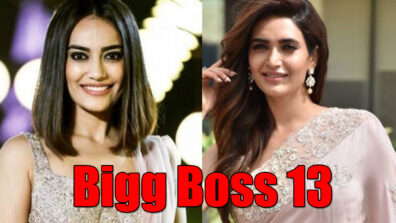 Naagins Surbhi Jyoti and Karishma Tanna in Bigg Boss 13