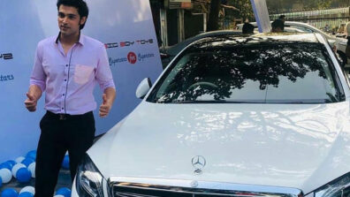 Parth Samthaan buys a Mercedes-Benz car