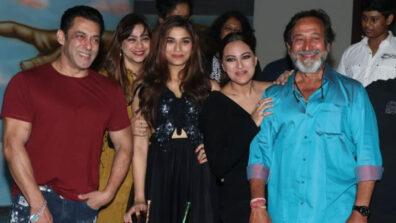 Saiee Manjrekar Birthday Bash: Salman and Saiee captured dancing on camera