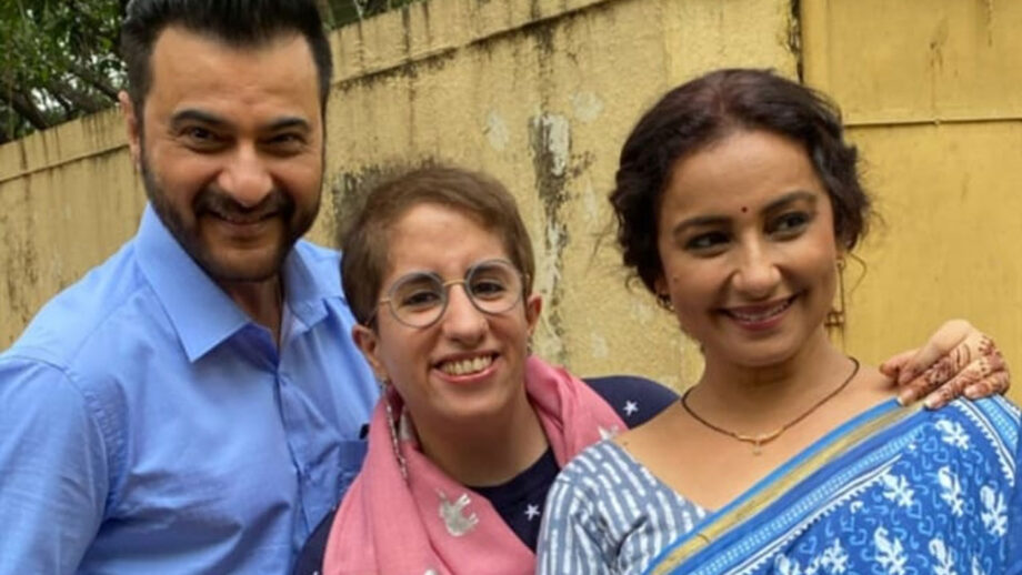 Sanjay Kapoor and Divya Dutta in Guneet Monga's short film 1