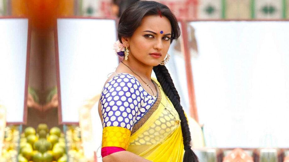 Saree look makes Sonakshi Sinha look best