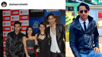 Shaheer Sheikh throwback: Cute teenager look to the macho talented actor