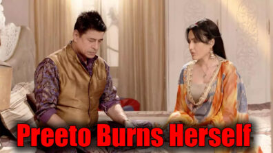 Shakti Astitva Ke Ehsaas Ki: Preeto BURNS herself and throws blame on Harak
