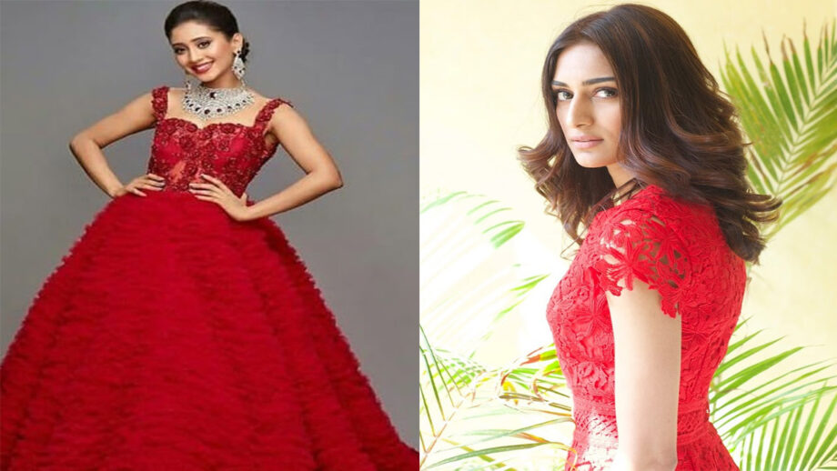 Shivangi Joshi or Erica Fernandes - Who stuns in red?