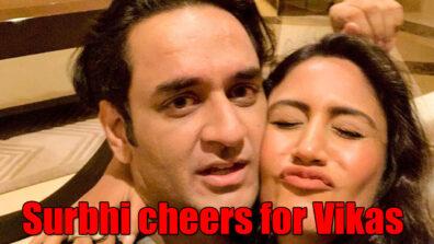 Surbhi Chandna cheers for Bigg Boss 13 wild card contestant Vikas Gupta