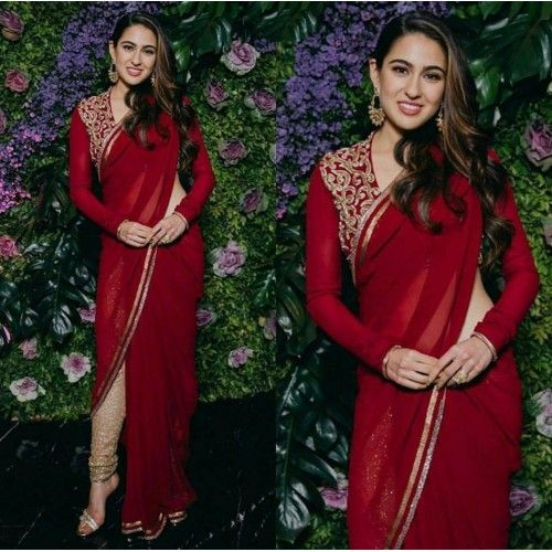 Tara Sutaria or Sara Ali Khan: Who slays the saree look? 2