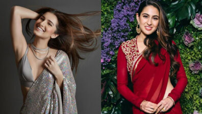 Tara Sutaria or Sara Ali Khan: Who slays the saree look? 3