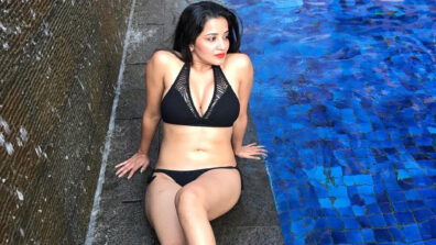 Temperature soaring high because of these bikini pictures of Monalisa 10