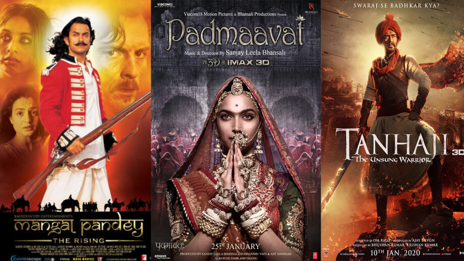 The trend of Historical movies in Bollywood