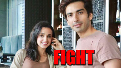 TV couple Sanaya Irani and Mohit Sehgal indulge in a fight in public