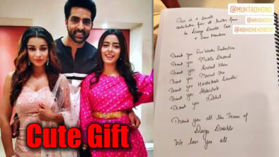 Twitter fans of Divya Drishti send a cute gift to the team