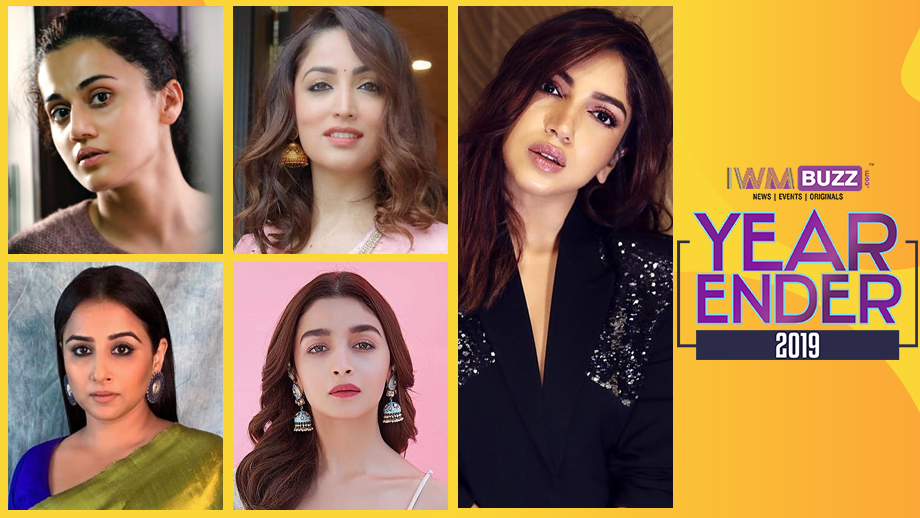 Year-Ender 2019: Top 5 Bollywood Actresses
