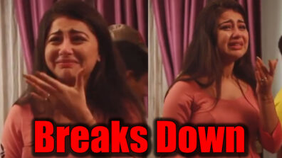 Yeh Hai Mohabbatein actress Aditi Bhatia cries her heart out, video goes viral