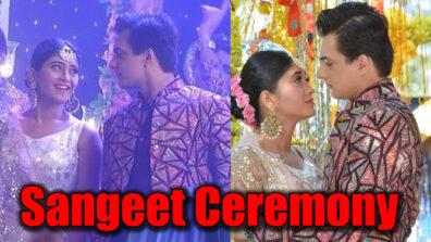 Yeh Rishta Kya Kehlata Hai: Kartik and Naira's sangeet ceremony with a twist
