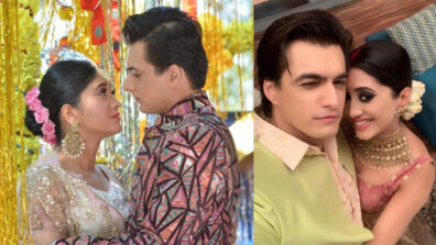 Are Mohsin Khan and Shivangi Joshi taking their onscreen chemistry to real life?