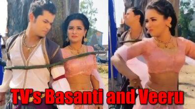 Avneet Kaur and Siddharth Nigam turn Basanti and Veeru