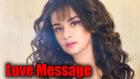 Avneet Kaur receives a 'love message'