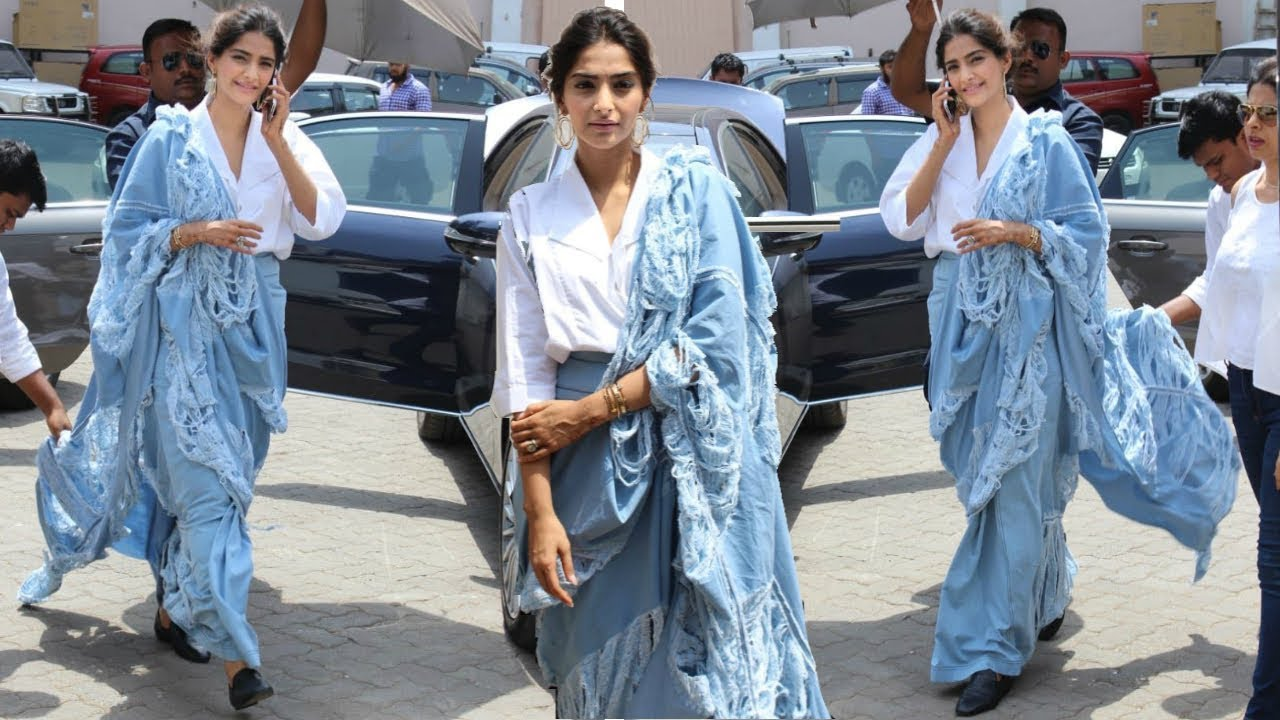 Beautiful sarees on Sonam Kapoor makes her look more stunning than ever 4