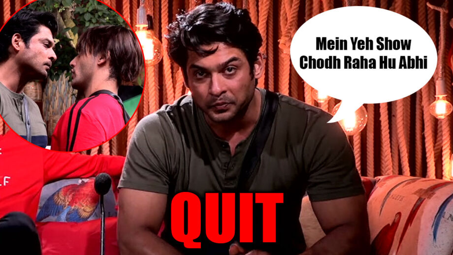 Bigg Boss 13: I am quitting the show, I am done with Asim Riaz, says frustrated Sidharth Shukla