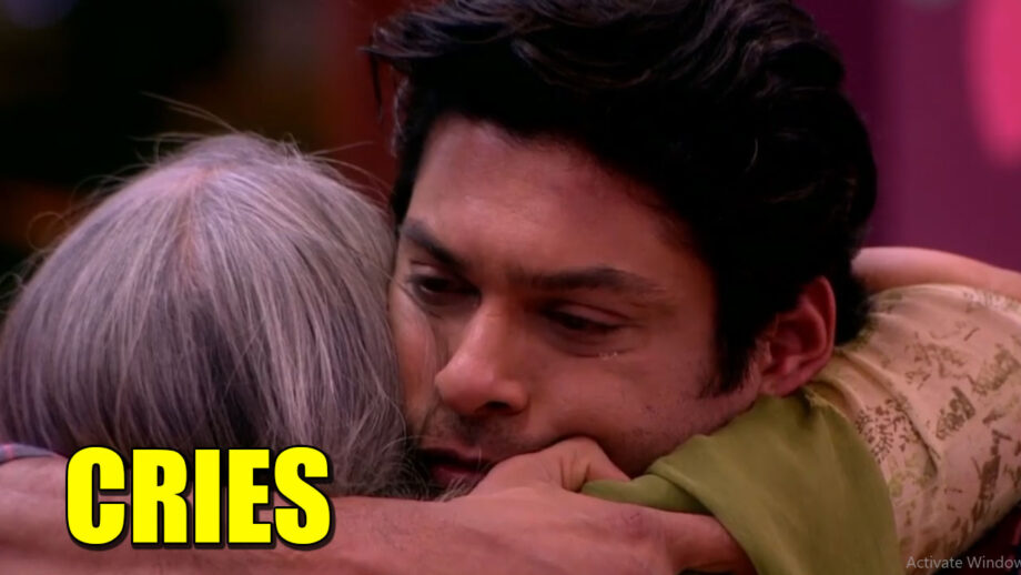 Bigg Boss 13: Sidharth bursts into tears after seeing his mother