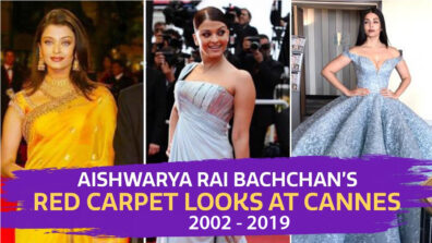 Check how Aishwarya Rai Bachchan has evolved with her Cannes outfits so far 2