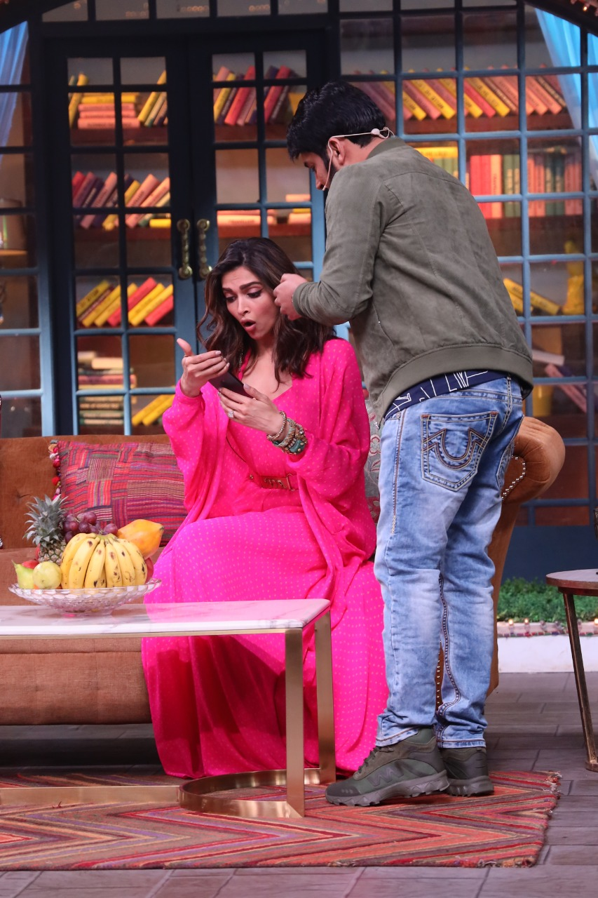 Check out: Deepika Padukone's reaction after seeing first glimpse of Kapil Sharma's baby girl 1