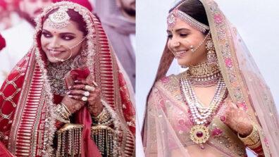 Deepika Padukone Or Anushka Sharma: Who is your favorite Sabyasachi bride?