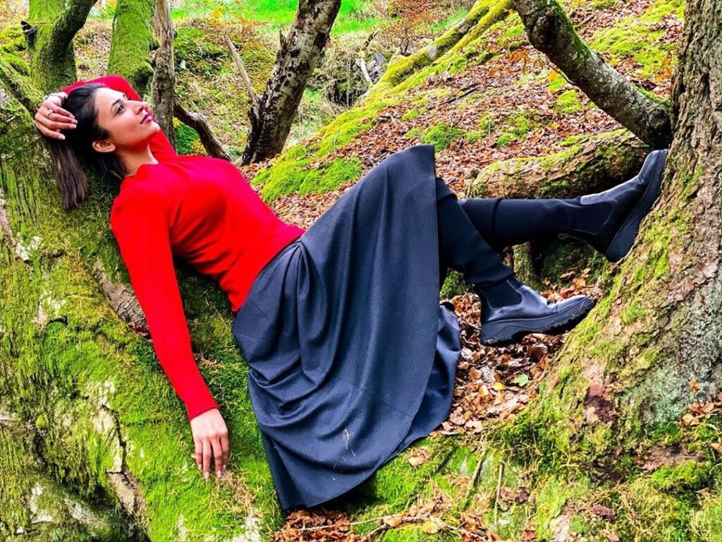 Divyanka Tripathi's red avatar: Hot or not? 6