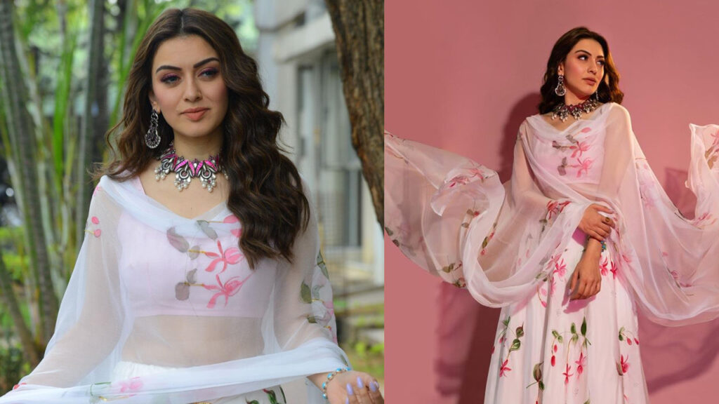 Each time Hansika Motwani stuns in a floral dress 2