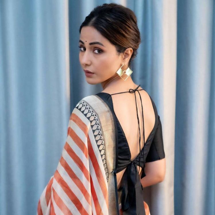 Hina Khan, Drashti Dhami, Divyanka Tripathi stun all in a stylish saree twist 10