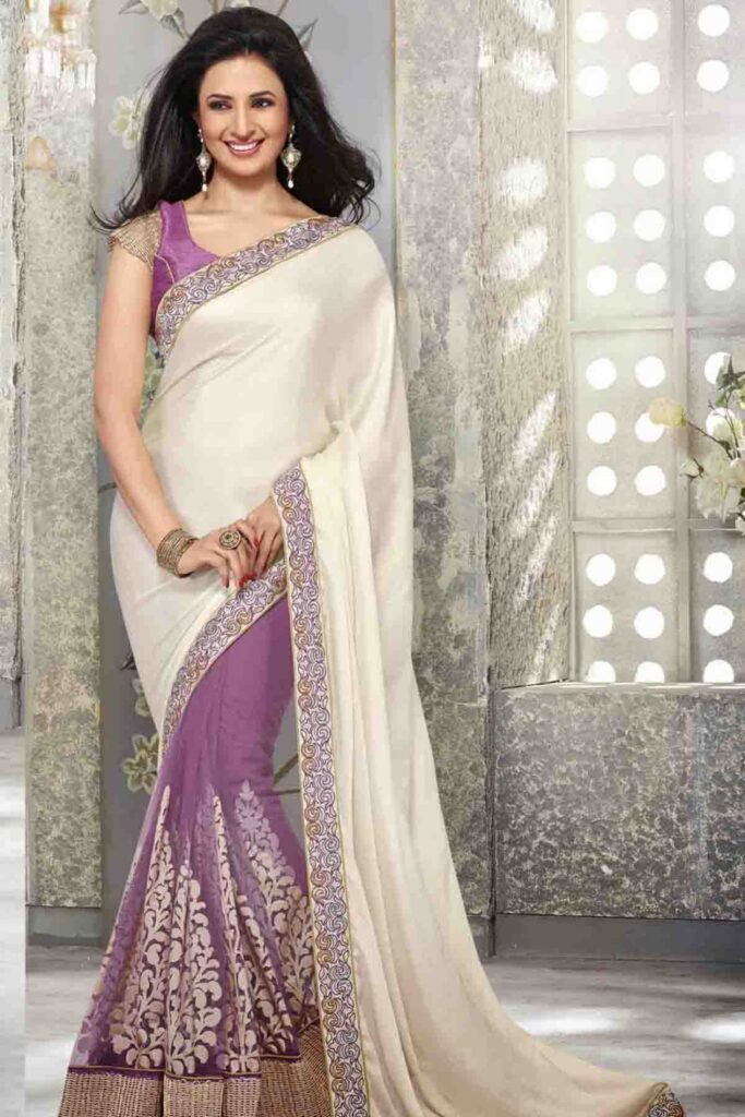 Hina Khan, Drashti Dhami, Divyanka Tripathi stun all in a stylish saree twist 8