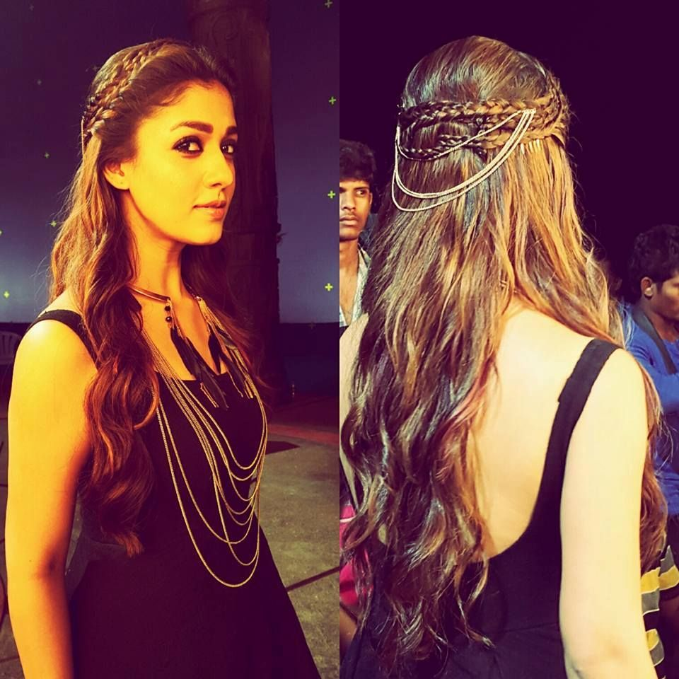 If You're Nayanthara Fan, Follow These Party Hairstyles 6