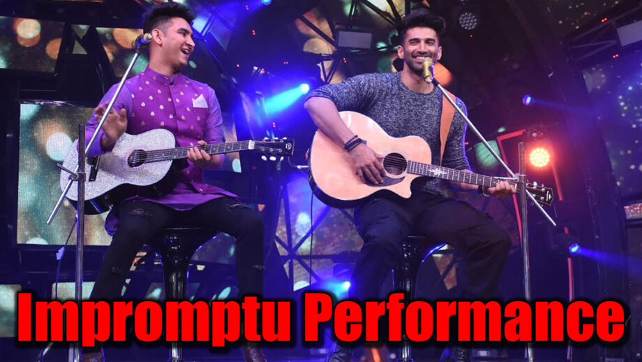 Indian Idol 11: Aditya Roy Kapoor's impromptu performance with Rishabh Chaturvedi