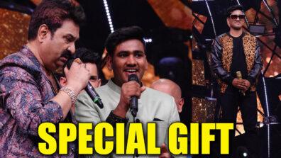 Indian Idol 11: Kumar Sanu's special gift for Sunny Hindustani