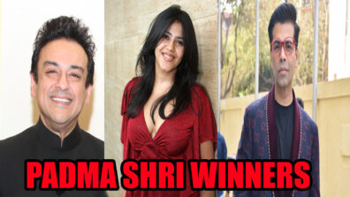 Karan Johar, Ekta Kapoor & Adnan Sami honored with the prestigious Padma Shri 1
