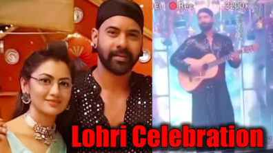 Kumkum Bhagya: Abhi's rockstar avatar in Lohri celebration